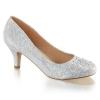 DORIS-06 Silver Glitter/Rhinestone